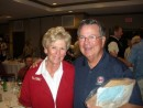 Nancy & John Gordon at the 2012 Camp Hall of Fame Induction Ceremony.  Welcome to our Hall John!